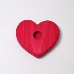 Kaarsenhouder hart klein