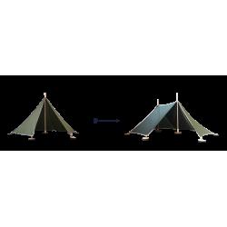 Abel Uitbreiding Tent 1 naar Tent 2 groen