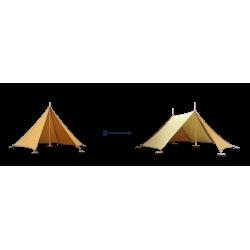 Abel Uitbreiding Tent 1 naar Tent 2 geel