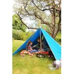 Abel Uitbreiding Tent 2 naar Tent 3 turquoise