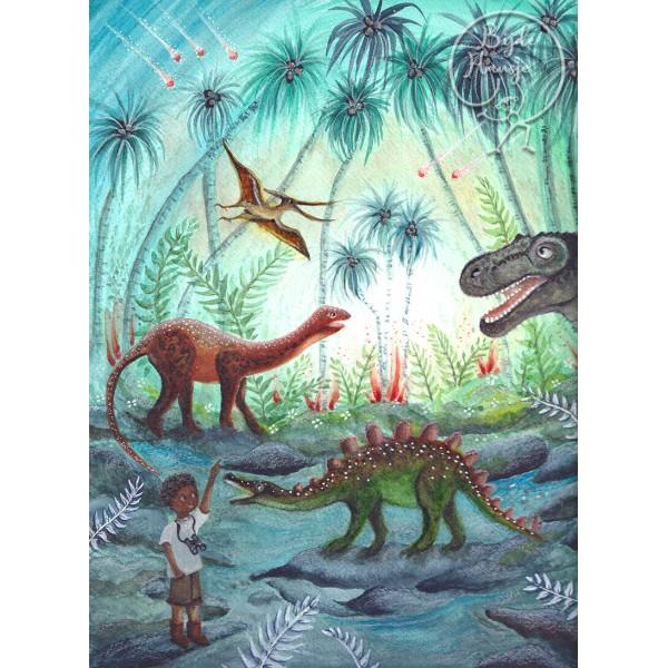 Kaart Dino Adventure
