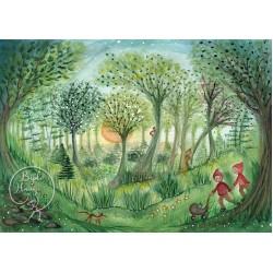 Kaart Forest