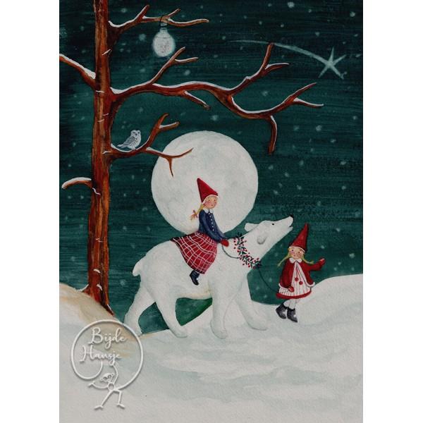Bijdehansje poster Polar Children