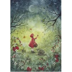 Kaart Strawberry Dream