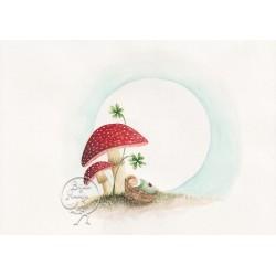 Kaart Mushroom Baby