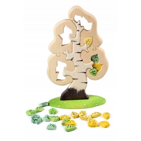 Bumbu Toys Grote berk puzzel