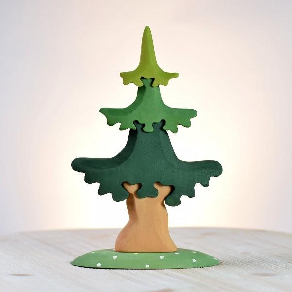 Bumbu Toys Dennenboom puzzel groot