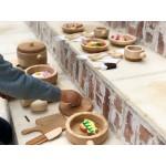 Bumbu Toys Keuken speelgoed: Snijplank met mes, lepel en spatel - SET