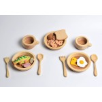 Bumbu Toys Keuken speelgoed: borden, bekers en bestek - SET