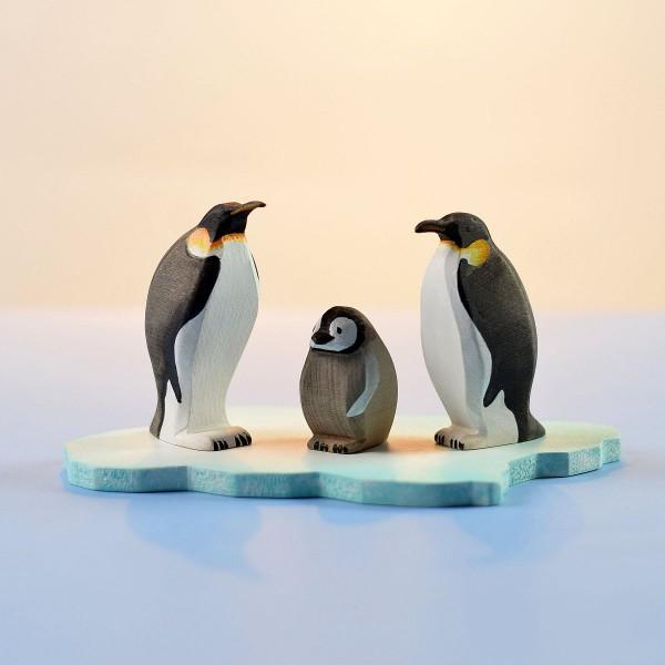 Bumbu Toys Pinguïn familie met ijsschots - SET
