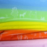 Draagdoek Ostheimers magische regenboog - maat 4