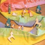 Draagdoek Ostheimers magische regenboog - maat 6