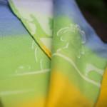 Draagdoek Ostheimers magische regenboog - maat 7