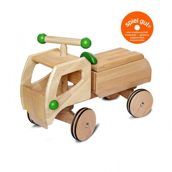 Dynamiko loopwagen vrachtwagen groen