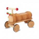Dynamiko loopwagen rups rood/groen