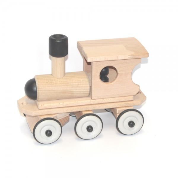 Dynamiko Houten Trein Locomotief Zwart