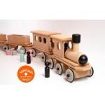 Dynamiko Houten Trein Locomotief Bont