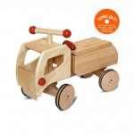 Dynamiko houten loopwagen vrachtwagen rood