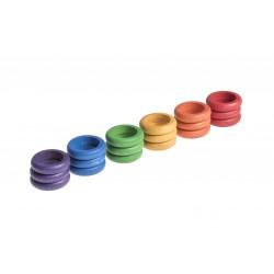 18 Ringen (6 kleuren)