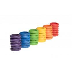 36 Ringen (6 kleuren)