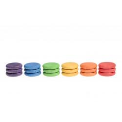 18 Munten (6 kleuren)
