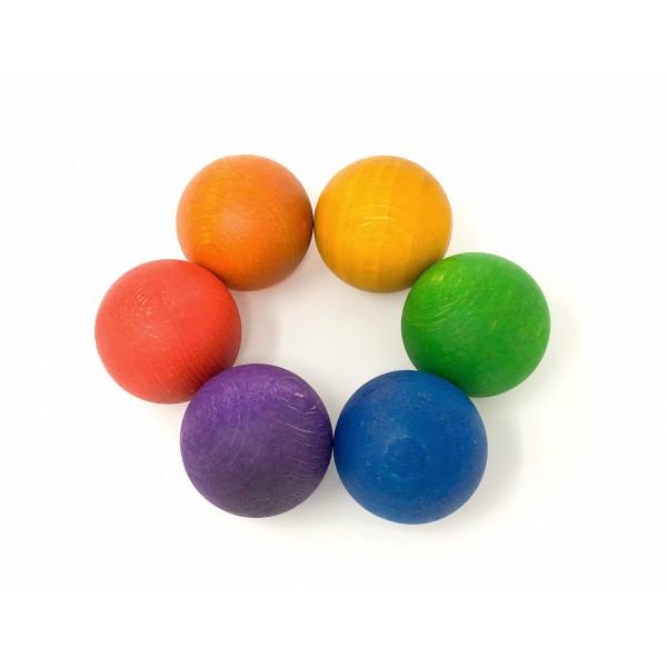 Grapat 6 Ballen (6 kleuren)