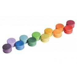 36 Munten (12 kleuren)