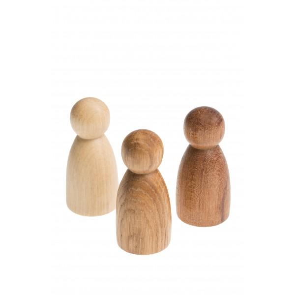 Grapat 3 Nins (3 houtsoorten)