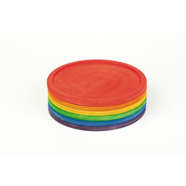 Grapat 6 Regenboog schalen