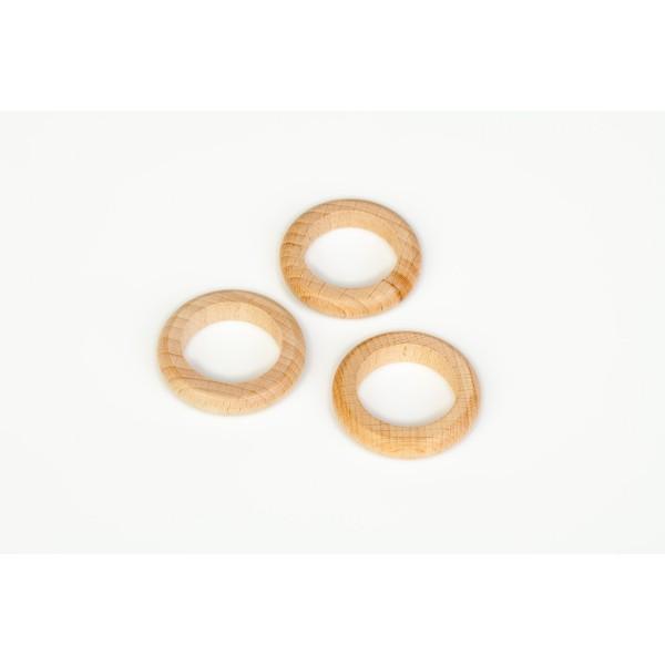 Grapat 3 Houten ringen naturel