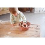 Grapat 3 Kleine houten hoepels naturel