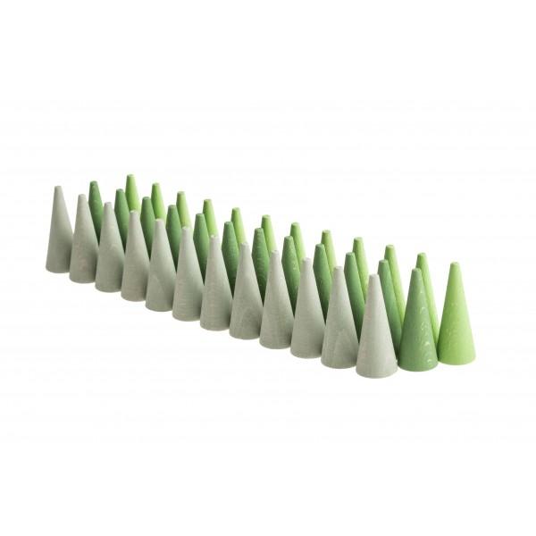 Grapat Mandala Kegels groen