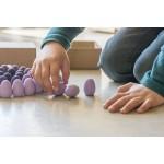 Grapat Mandala Eieren paars