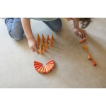 Grapat Mandala Kegels oranje