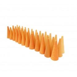 Mandala Kegels oranje
