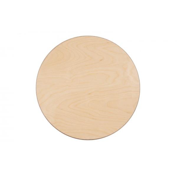 Grapat houten speelbord