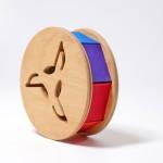Grimm's Babyroller met bal regenboog kleuren