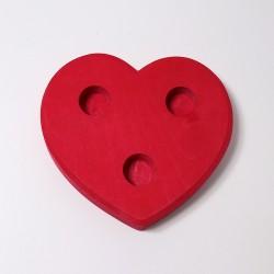 Kaarsenhouder hart