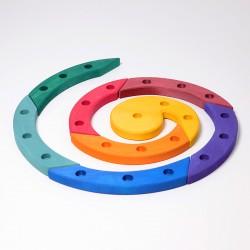 Spiraal 24 gekleurd