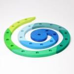 Grimm's Spiraal 24 blauw groen