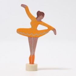 Steker Ballerina Oranje Bloesem