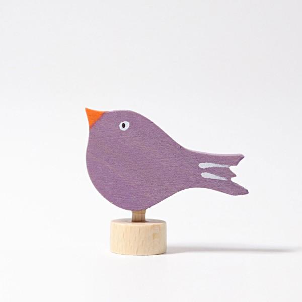 Grimm's Steker vogel paars