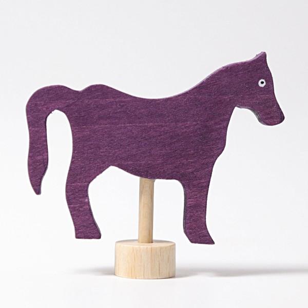 Grimm's Steker paard paars