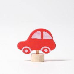 Steker auto rood