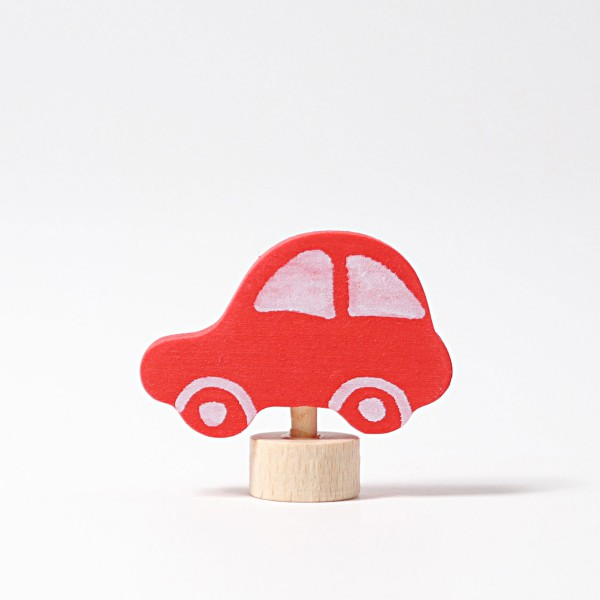 Grimm's Steker auto rood