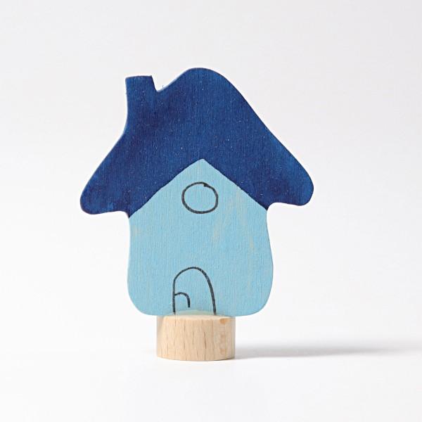 Grimm's Steker huis blauw