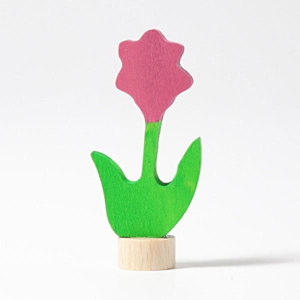 Grimm's Steker bloem roze
