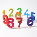 Grimm's Steker getal cijfer 0 strak