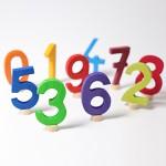 Grimm's Steker getal cijfer 1 strak