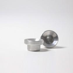 Kaarsenhouder ring aluminium